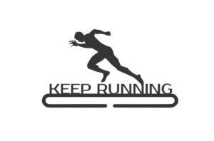 Медальница бег