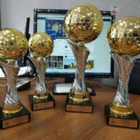 Кубки и медали для Чемпионата Московского дивизиона по футболу