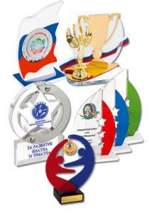 Награды, призы из акрила